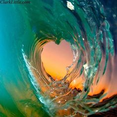 Wave of Love Clark Little Photography