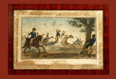 Courses, Equestrian, Antiques, Painting, Art, Antiquities, Art Background, Antique, Horseback Riding