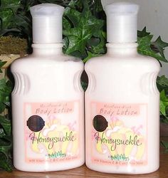 Bath and Body Works Original Honeysuckle Lotion.  Do you remember the original products from the store.  I remember walking into my first B & BW store in 1996 and just being awestruck.