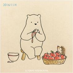 1021 りんご  apples
