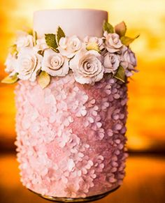 For a pink wedding,