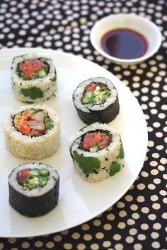 maki sushi / 巻寿司 / kitsch-en / flickr