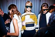 Backstage action of #PhillipLim