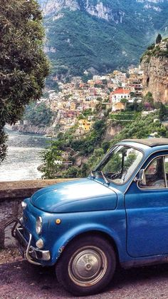 Positano on the Amalfi Coast Italy