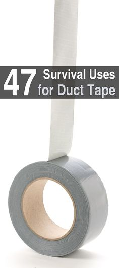 Duct tape is one of the most versatile products ever invented. MacGyver types have found uses for it that the developers probably never dreamed of.