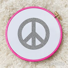 Endless-Ecostitch-Embroidery #EEE Stickdatei – Peace