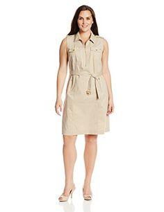 Jones New York Women's Plus-Size Safari Dress, Rye, 20W Jones New York http://www.amazon.com/dp/B00KIU1XCG/ref=cm_sw_r_pi_dp_-wA8vb0HHWKJ2