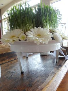 Easter Centerpiece - Monica Hart - Container by Steel Life
