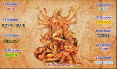 Jai Durga Mata Di...Colors of Navaratri.