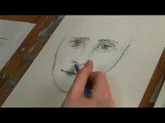 Face Drawing Techniques : Drawing Face Shadows