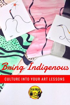 Bring Indigenous Culture into Your Art Lessons - Bring Indigenous People of Canada into your art lessons on a regular basis. Study the artists that - Aboriginal Education, Indigenous Education, Indigenous Art, Aboriginal Art, Art Education, Aboriginal Culture, Grade 1 Art, Grade 3, Indigenous Peoples Day
