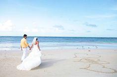 Dreams Punta Cana Beach.  #DestinationWedding