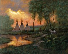 McNaughton Art Jon Mcnaughton, Landscape Paintings, Art Paintings, Landscapes, Pow Wow, Pictures To Paint, Native American Indians, Painting Inspiration, All Art