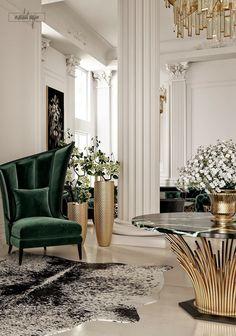Classic Interior - VWArtclub – Classic Interior - # classic Home Decor Luxury Home Decor, Luxury Interior Design, Interior Decorating, Neoclassical Interior Design, Design Living Room, Living Room Decor, Living Rooms, Home Design Decor, Design Homes