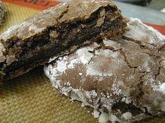 yum - mocha crinkle cookies, for those who love coffee, chocolate and cookies