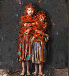 JONAS BURGERT http://www.widewalls.ch/artist/jonas-burgert/ #contemporary #art…