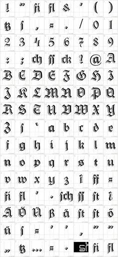 DS HermannGotisch Font · 1001 Fonts