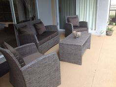 Murphy 4 Piece Deep Seating Group with Cushions