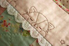 embroidered pillowcase by nanaCompany,