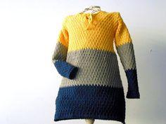 crochet dress for baby girls handmade sweater dress by cosediisa