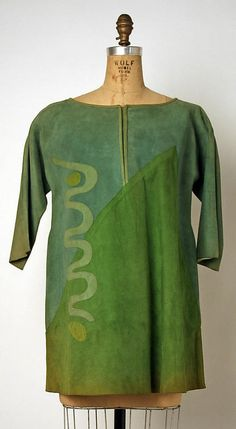 Bonnie Cashin tunic in leather. Gift of Helen and Phillip Sills Collection of Bonnie Cashin Clothes, The Metropolitan Museum of Art online collection. 1960s Fashion, Vintage Fashion, Vintage Beauty, Bonnie Cashin, Period Outfit, Kinds Of Clothes, Sewing Clothes, Fashion History, Couture
