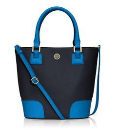 Tory Burch Color-block Bucket Bag