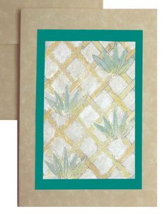 Lovely hand made cards, watercolors on parchment - Make your own.