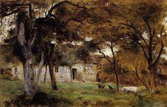 Berthe Morisot - Ferme en Normandie  1859
