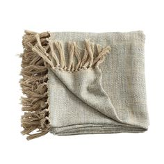 """Dimensions: 54"""" x 78""""    Great as a gift  Natural, inviting color  Accompanies any décor  Stay warm with our Cool Blue Throw. Made of 100% cotton blends, this tightly woven throw has subtle blue hues embedded in neutral tones. With a soft (and absolutely huggable!) texture, this throw is perfect to drape over your bed, couch, or that big comfy chair—grab your favorite book, a cup of tea, and get cozy."""