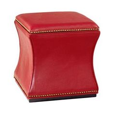 Check out the Hammary 090-425 Hidden Treasures Storage Cube in Red priced at $170.00 at Homeclick.com.
