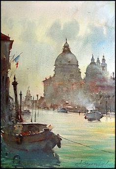 Dusan Djukaric   Watercolor