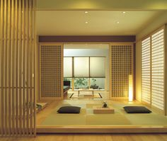 modern japanese #tatami room                                                                                                                                                                                 More