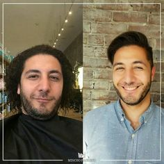 Modern man with a strong look!! Hair Design By #MinchoPacheco . #TransformationTuesday  _________________  #Hairstylist #Hairstyle #Boston #Hair #MensStyle #Fashion #Barber #Barberlife #MensFashion #Mens #Style #BestSalon #Barbergang #MensHair #HairDesign #HairDesigner