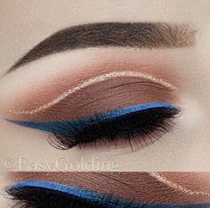 """16 Likes, 2 Comments - BEAU BELLE BRUSHES (@beaubellebrushes) on Instagram: """"Soft smoke with coloured liner @easygolding  Check out her page for some makeup inspo.…"""""""