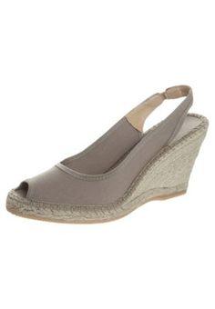 Espadrij l´original NICE High Heel Sandalette sable