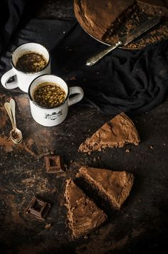 Torta di pane al cioccolato/ Chocolate bread cake