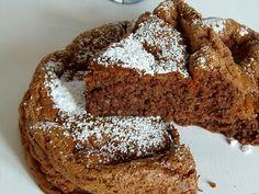 Ricetta Torta Dukan al Cacao Healthy Cake, Healthy Recipes, Healthy Food, Cake & Co, Dukan Diet, Biscotti, I Foods, Banana Bread, Cacao