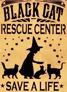 "For your consideration is this unique NEW handpainted Primitive Witch Sign """"Black Cat Rescue Center.save a life"". I started with a specially cut Halloween Witch Decorations, Halloween Signs, Halloween Cat, Halloween Witches, Vintage Halloween, Preschool Halloween, Whimsical Halloween, Halloween Pictures, Fall Decorations"