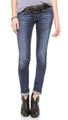 Citizens Of Humanity Racer Lowrise Skinny Jeans - Patina