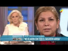 """Lina a Mirtha Legrand: """"Sus abogados no le están diciendo la verdad"""""""