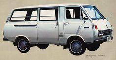 Toyota HiAce RH11V-FD 1972   by vetaturfumare - thanks for 1 MILLION views!!!