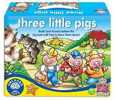c9d7d6ff626 Orchard Toys Three Little Pigs  Amazon.co.uk  Toys   Games