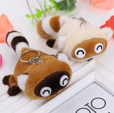 Chibi Raccoon Plush from CutesyCrap.com