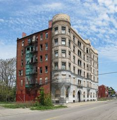 Detroit.  Lot of blight, but some amazing buildings....and homes...