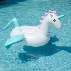 250 cm 98 polegada unicórnio pegasus flutuador natação piscina inflável gigante ride on carros alegóricos coloridos colchão da praia do divertimento brinquedos boia piscina em Anéis de natação de Sports & Entretenimento no AliExpress.com | Alibaba Group