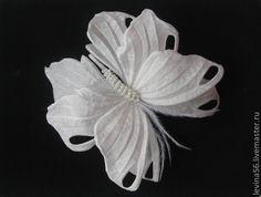 бабочка из шелка мастер класс - Поиск в Google