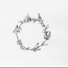 I like the idea of this for ring finger wreath tattoo, diy tattoo, wreath Finger Tattoos, Circle Tattoos, Mini Tattoos, Trendy Tattoos, New Tattoos, Letter Tattoos, Wreath Tattoo, Diy Tattoo, Kranz Tattoo