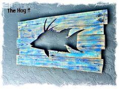 Beautiful Backlit Pallet Wall Art! Pallet Wall Decor & Pallet Painting