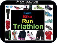 Swim, bike, and run apparel from Trivillage.com