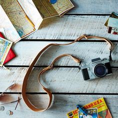Leather Camera Strap: A picture is worth a thousand words. #food52